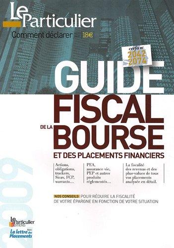 Guide fiscal de la Bourse et des placeme...