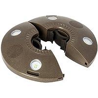 ION Audio Patio Mate - Luz de sombrilla resistente al agua con altavoces Bluetooth stereo y