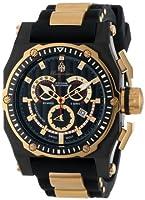 Burgmeister BM157-622B - Reloj analógico de cuarzo para hombre con correa de silicona, color negro de Burgmeister