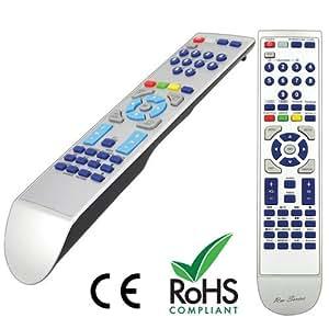 RM-Series Télécommande de rechange pour Philips DVDR3320V