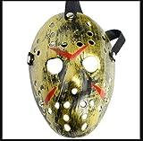 AIMS Halloween Maske Freitag der 13. Jason Vorheers Eishockey Gold Maske