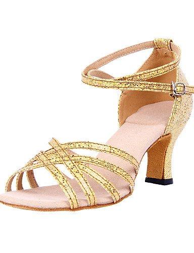 Sandales Femmes mode moderne personnalisé l'étincelant Glitter Chaussures de danse latine supérieure(plus de couleurs) US8/EU39/UK6/CN39