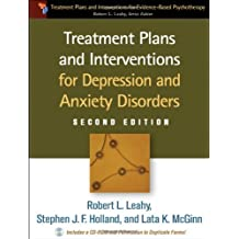 Treatment Plans and Interventions for Depression and Anxiety Disorders (Treatment Plans and Interventions for Evidence Based Psychotherapy) by Robert L. Leahy (16-Dec-2011) Paperback