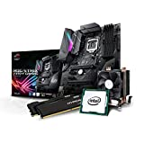 Kiebel Gaming Aufrüst-Bundle (v8): [184446] Intel Core i7-8700K 6-Kerner (6x3.7 GHz) Turbo bis 4.7GHz | 16GB DDR4-2666 MHz | Intel HD Grafik | Sound | ASUS Strix Z370F Gaming | komplett vormontiert und getestet