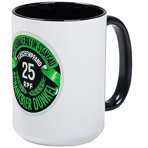 CafePress - Czech Beer Label 3 - Coffee Mug, Large 15 oz. White Coffee Cup