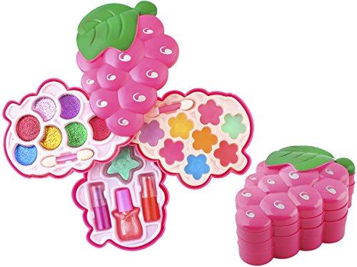 Iso Trade Kinder Schminkset Schminke Spiel Makeup Lidschatten Weihnachtsgeschenk #4513