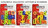 #6: Combo of 78 Pcs Large Size Colorful Magnetic Alphabets & Numbers for Kids to Learn Spell & Calculate (Capital & Small Letters and Numbers) Pre-School and Gift Pack