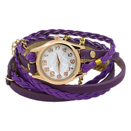 charming-vintage-weave-wrap-leather-chain-bracelet-watch-for-womens-ladies-purple