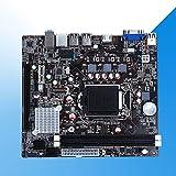 heDIANz Scheda Madre 10GBB 1155Pin Scheda Madre DDR3 per CPU i3 i5 Intel H61 Dual/Quad Core