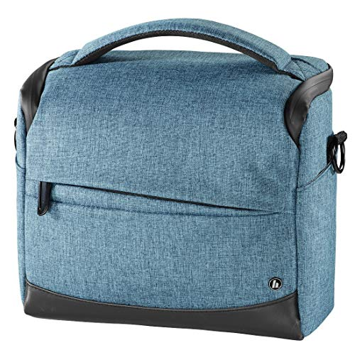 Hama Unisex Sac Pour Appareil Photo Trinidad, 130, Bleu Handtasche, Blau 00185036, 15x22x23 cm