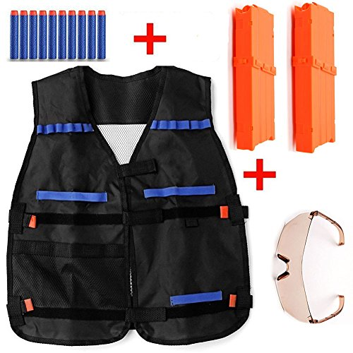 tily-tactical-vest-for-nerf-n-strike-elite-team-toy-kit-including-2-clips-12-darts-quick-reload-clip