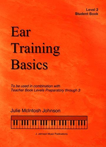ETB2 - Ear Training Basics Student Book Book/CD - Level 2 - Julie Johnson