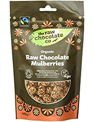 The Raw Chocolate Company - Organic Raw Chocolate Mulberries - 125g