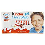 Kinder Barrette di Cioccolato al Latte - 16 Pezzi