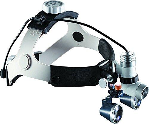 LED-Scheinwerfer für Zahnarztpraxen, 3 W, mit 60000 lx Beleuchtung, chirurgisch, verstellbar, Stirnlampe für Zahnarzt, Zahnimplantat, E.N.T. Verdauungschirurgie Kit