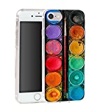 Trendario Handyhülle für Apple iPhone 7 (Farbkasten) - Hülle - Schutzhülle mit Motiv - TPU Silikon Hülle - Case - C