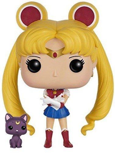 Funko 6350 POP Vinylfigur Sailor Moon und Luna, Multi, Standard
