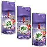 3x Fresh&More Himbeere-Blumen & Süßigkeiten Für Air Wick Freshmatic Max - 250ml