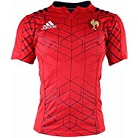 MAILLOT ENTRAINEMENT FFR XV ROUGE ADULTE ADIDAS - taille : 3XL