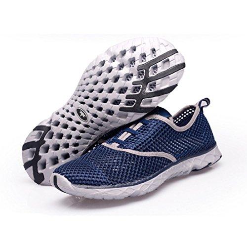 Men's Sapatos Respiravel Corrida Esportivos Homens Running Shoes Dark Grey