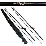 Brand New Carp Hunter 12ft 2.75lb Carp Fishing Rod With Cloth Bag X 2