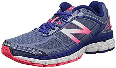 New Balance Women's W860 2A V5 Running Shoes, Gris (Gp5