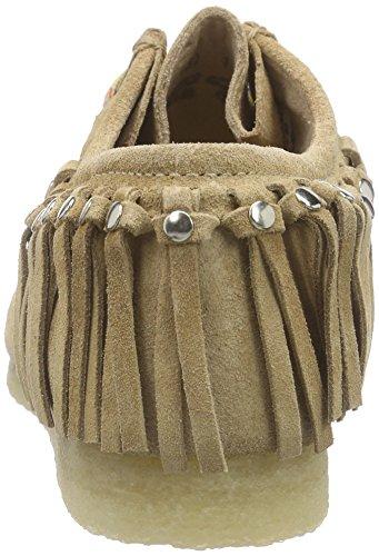 Sioux Grashopper-d-161-03, Mocassins femme Marron - Braun (sisal)