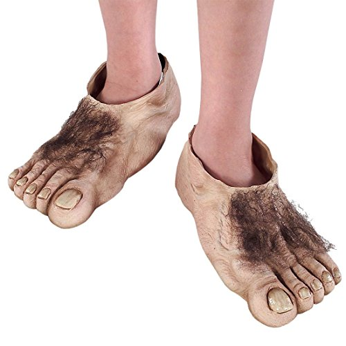 Child Hobbit Feet - Hobbit Füße Kostüm