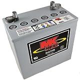 MK M22NF SLD G - Batería de gel para sillas de ruedas y motos (12V, 50Ah)