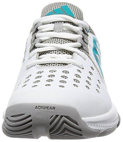adidas Damen Barricade Classic Bounce W Turnschuhe Black (Ftwbla / Nocmét / Verimp)
