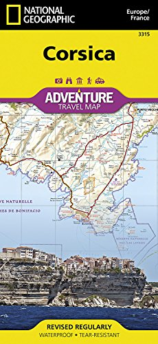 Corsica: Travel Maps International Adventure Map
