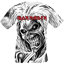 Amazon.es: camiseta iron maiden