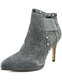 Karl Lagerfeld Amedee Spitz Wildleder Mode-Stiefeletten