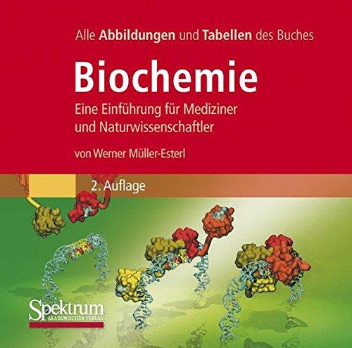 Bild-DVD, Müller-Esterl, Biochemie: Die Abbildungen des Buches
