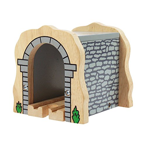 Bigjigs Rail Tunnel de pierres grises