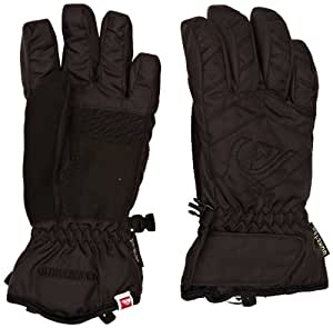 Quiksilver Boy's GATE YOUTH GLOVES-Snow Gloves - Black, Small