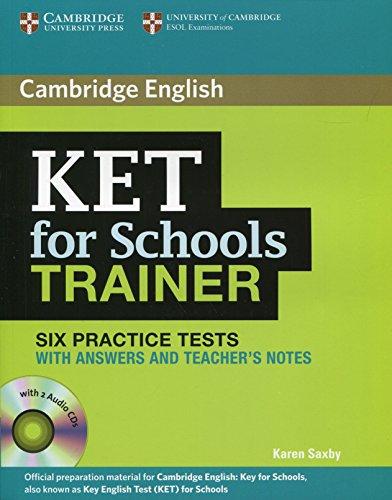 KET for school trainer. Practice tests with answers. Per le Scuole superiori. Con CD Audio