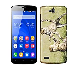 WOW Printed Designer Mobile Case Back Cover For Huawei Honor 3C