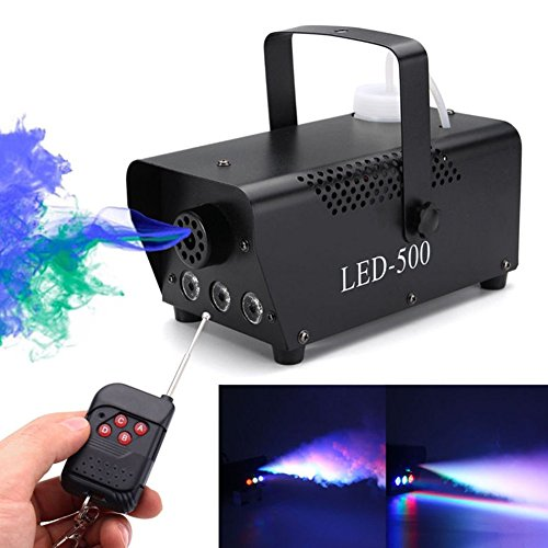 (Etbotu LED Luft Säulen Stadiums Rauch Maschine mit multi Farbe 110 230V)