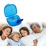 #9: BIGHUBH 100% Professional STOP SNORING Anti Snore Soft Silicone Mouthpiece Apnea Guard Bruxism Tray Night Sleeping Aid Stopper Mouth Hot