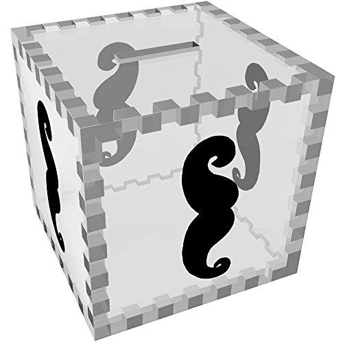 Azeeda 'Bigote' Caja de Dinero / Hucha MB00011478