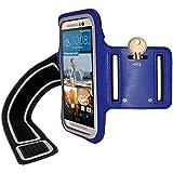 iGadgitz U3583 Funda para teléfono móvil 12,7 cm (5') Brazalete Caso Azul - Fundas para teléfonos móviles (Brazalete Caso, HTC, One M9, 12,7 cm (5'), Azul)