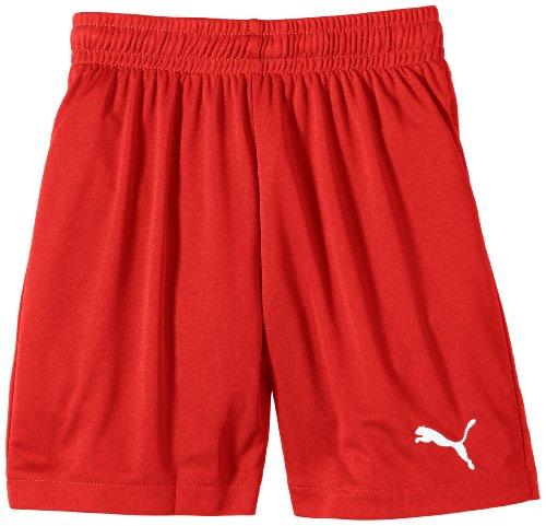 Puma Jungen Fußballshorts Velize, red, 116, 701895 01 (Basis Kurze)