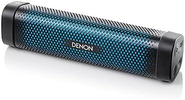 Denon Envaya Mini Portable Premium Bluetooth Speaker with NFC - Black/Blue