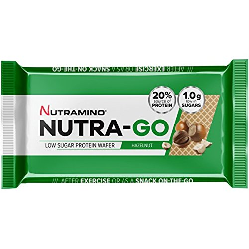 Protein Wafer (Nutra-Go Protein Wafer, Chocolate Hazelnut - 12 x 39g)