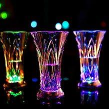 Homeofying - Taza LED para Bebidas con Cambio de Color y luz activada por Agua