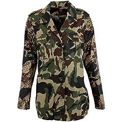 Camuflaje Parka chaqueta multicolor multicolor XL