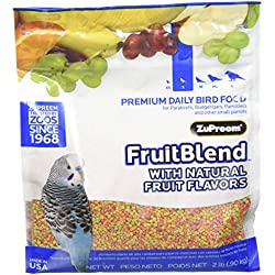 Zupreem Multifrutas Periquitos y Agapornis 900 gr
