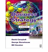 (BUSINESS STRATEGY (REVISED)) BY CAMPBELL, DAVID(AUTHOR)Paperback Oct-2002