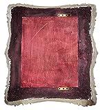 Spiegel 65x72cm Wandspiegel silberfarben Verzierungen Rosen antik Stil mirror - 5